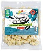 Ravioles  BIO à Poêler- Emmental, Ail & Fines Herbes-